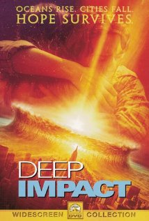 Deep Impact 1998 poster