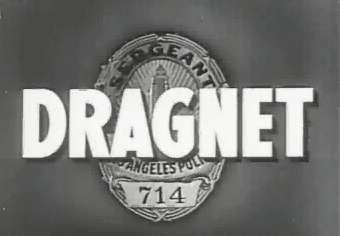 Dragnet title screen