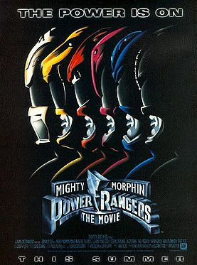 Power rangers movie poster-1-