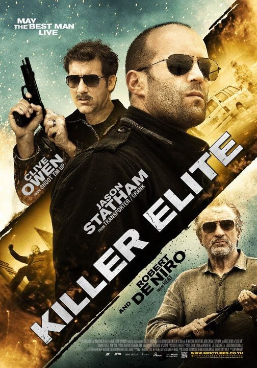 Killer Elite 2011 BluRay 720p 930MB [Hindi DD 2.0 – English 2.0] ESubs MKV