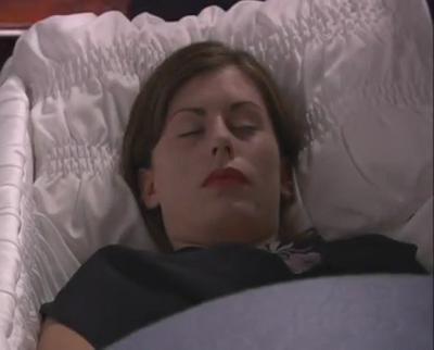 Nicole Redding dead in 'Lexx-Mort'