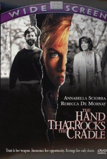 The Hand That Rocks the Cradle 1992 poster