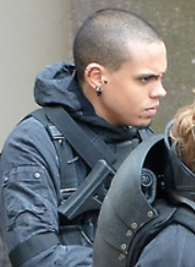 Evan Ross in The Hunger Games- Mockingjay - Part 2