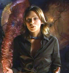 Polly Green just before her death in Lexx-Haley's Comet
