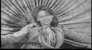 Terry Burnham just before her death in 'Wagon Train-The Martin Gatsby Story'
