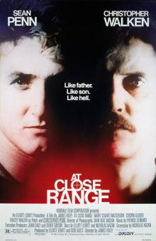 At Close Range poster