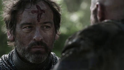 David Murray just before his death in Vikings-A King's Ransom