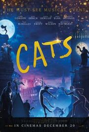 Cats 2019 poster