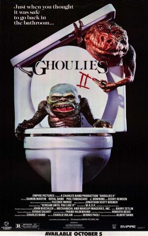 GhouliesIIPoster
