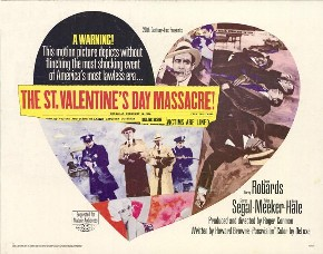 The St. Valentine's Day Massacre film poster