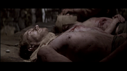 Sean Lawlor with Sandy Nelson dead in Braveheart