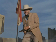 Rhodes Reason just before his death in 'The Time Tunnel-The Alamo'