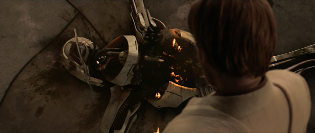 Resultado de imagem para star wars episode 3 grievous death