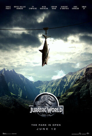 Jurassic world fan art poster by addictomovie-d8a1hpf