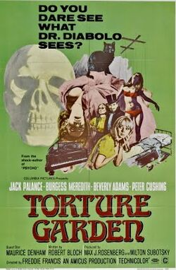 Torture garden poster 01