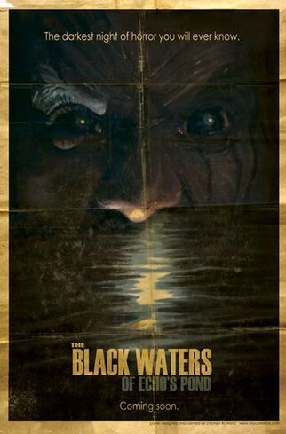 Black waters of echos pond