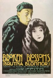 Broken blossoms poster