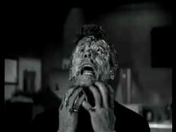 Donald Murphy dying in Frankenstein's Daughter