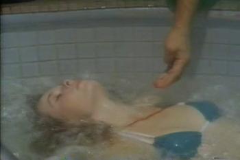 Suzanne Collins dead in 'Ninja III - The Domination'