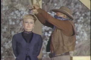 Marilyn Maxwell just before her death in 'Wagon Train-The Pearlie Garnet Story'