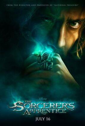 Sorcerers apprentice poster 2448