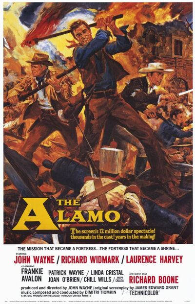 The Alamo 1960 poster