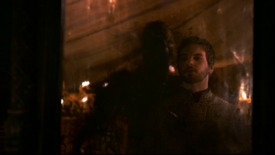 Gethin Anthony being killed in Game of Thrones-The Ghost of Harrenhal