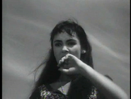 Susan Cabot just before her death in 'Viking Women'