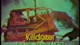 Killdozer 1974 ABC TV Movie Commercial
