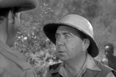 Herbert Mundin just before his death in Tarzan Escapes