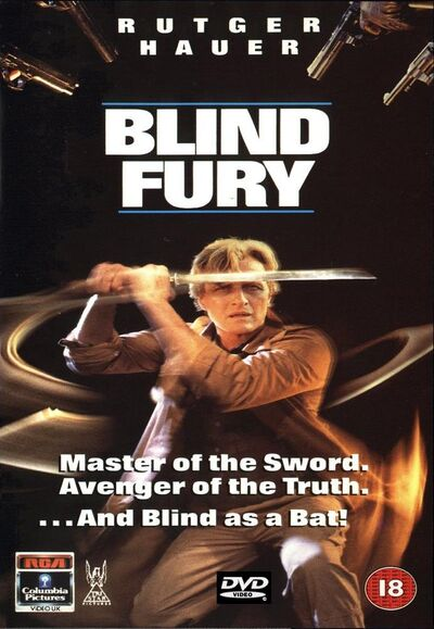 Blind fury-DVD cover