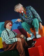 Clowns Balthazar & Sergei - La Nouba