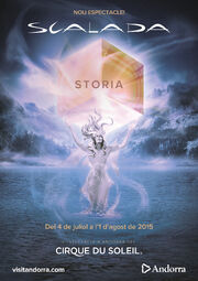 Scalada Storia Cirque du Soleil