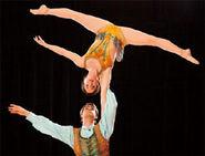 Acrobatic Duo - Corteo