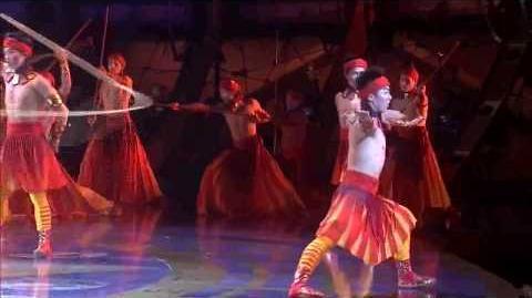 Cirque du Soleil ZED lazos