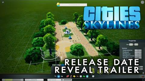 Cities Skylines - Release Date Reveal Trailer 60fps