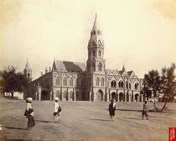 File:Government College, Lahore 1880s.jpg
