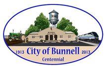 Bunnell, Florida Centennial Logo