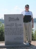 Evansville shipyard memorial