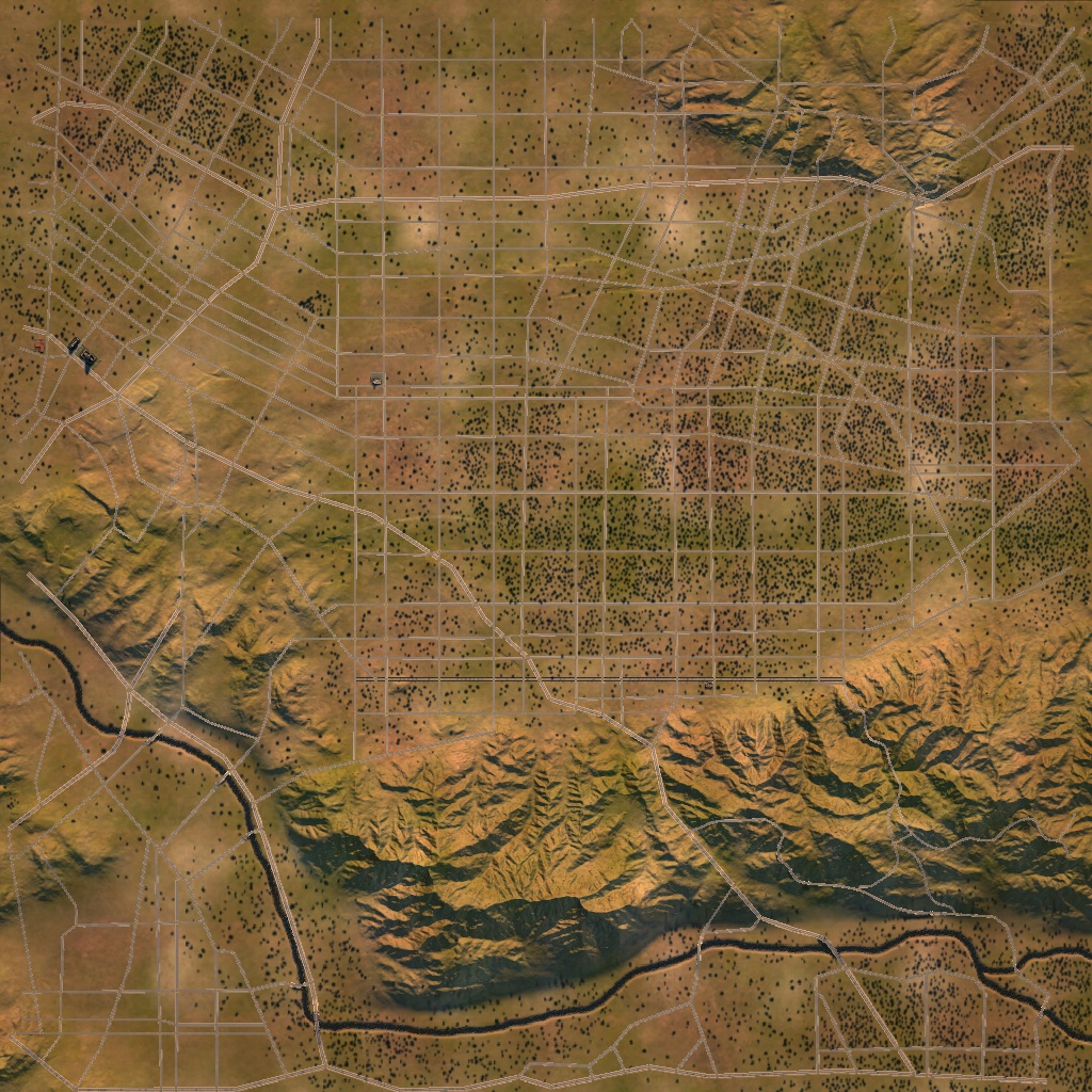Hollywood cities xl wiki fandom powered by wikia hollywood satellite map gumiabroncs Images
