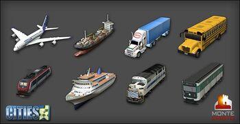 Transport vehicles