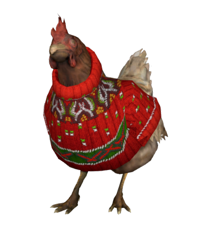 656895755 preview Chicken christmas