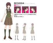 Harumi anime