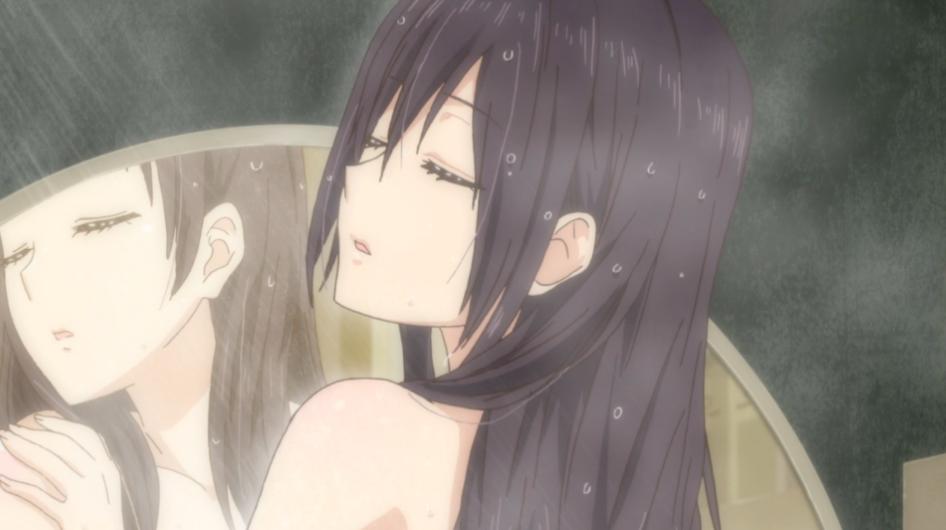 Bild - Anime Citrus S1 E2 Mei Aihara nackt baden duschen