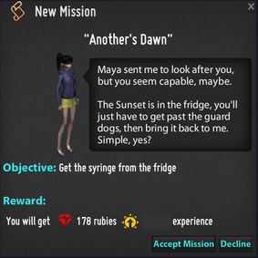 Another's Dawn Mission
