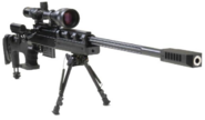 Silenced Sniper Rifle
