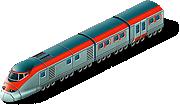 Train bullet SW