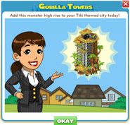 Announce Gorilla Towers