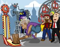 Amusement park teaser