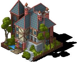 Mueller Mansion-SW